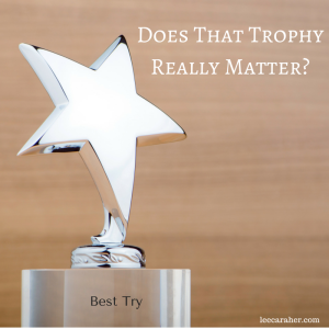 Does That Trophy REALLY Matter? #trophies #feedback