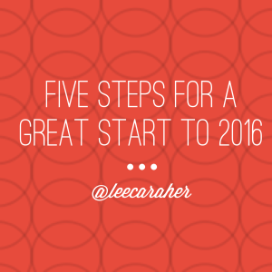 5 steps for a great start to 2016